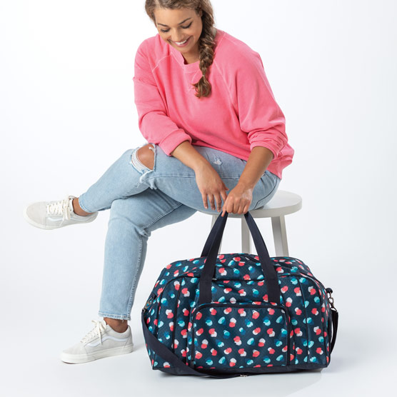 All Packed Duffle - Painted Dot Trio