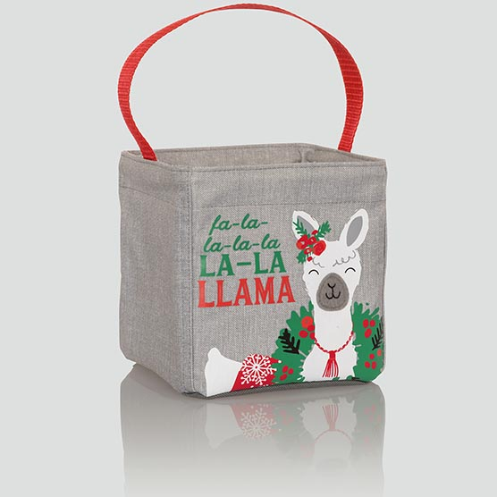 Littles Carry-All Caddy - Holiday Llama