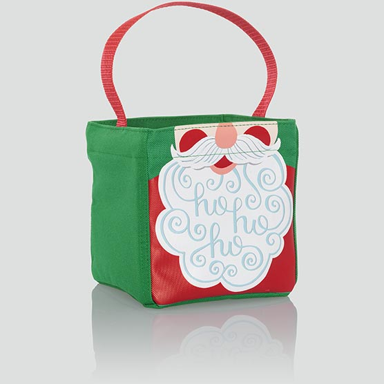 Thirty one Little carry-all Caddy utility mini tote bag 31 gift Holiday Llama