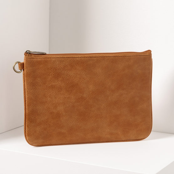 Rubie Mini - Caramel Distressed Pebble