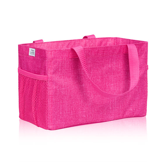 All-In Organizer - Pink Crosshatch