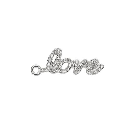 Keepsake Charm - Cursive Love