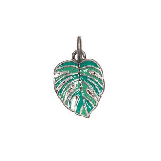 Keepsake Charm - Palm Leaf