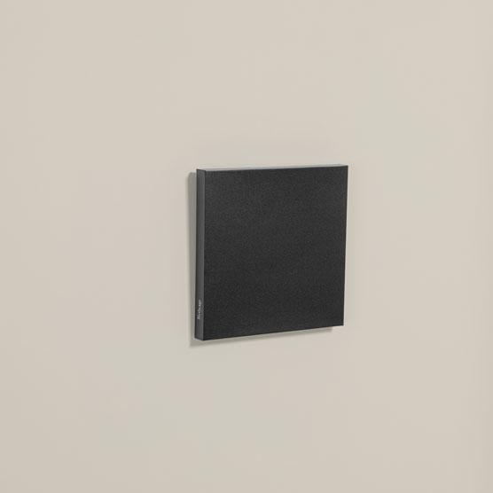 Statement Wall Art 12x12 - Black