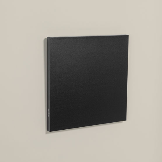 Statement Wall Art 20x20 - Black
