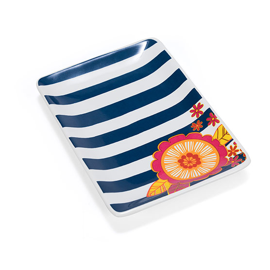 Keepsake Tray - Cabana Stripe w/ Tropic Pop