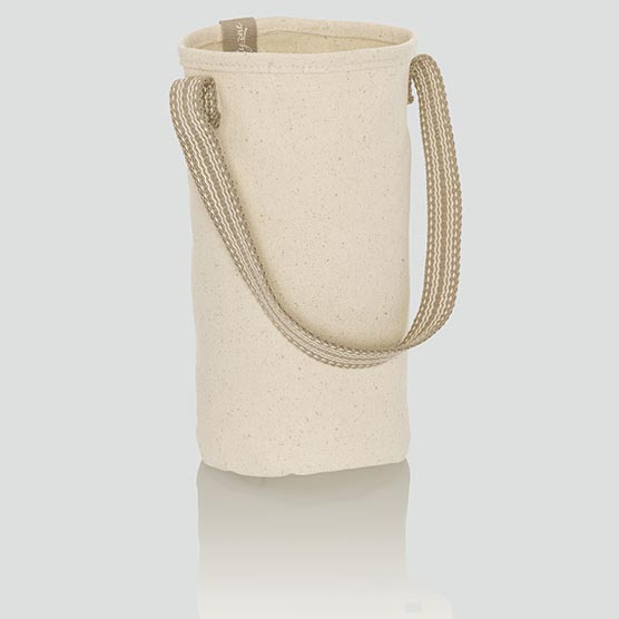 Statement Canvas Gift Bag - Natural