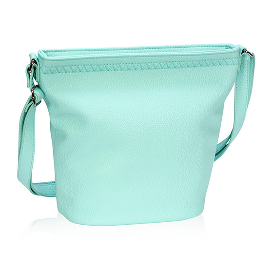 Café Crossbody - Skies for You Pebble