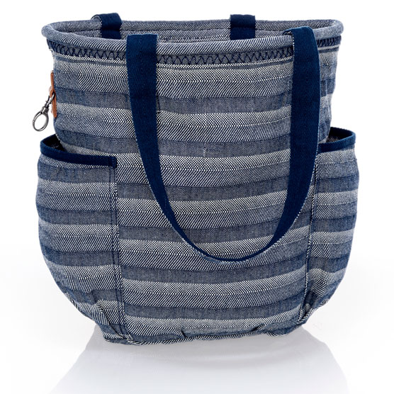 Retro Metro Bag - Woven Stripe