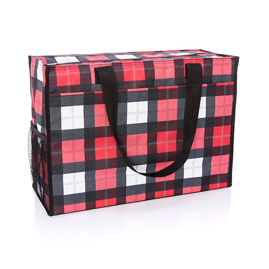 Deluxe Organizing Utility Tote - Check Mate