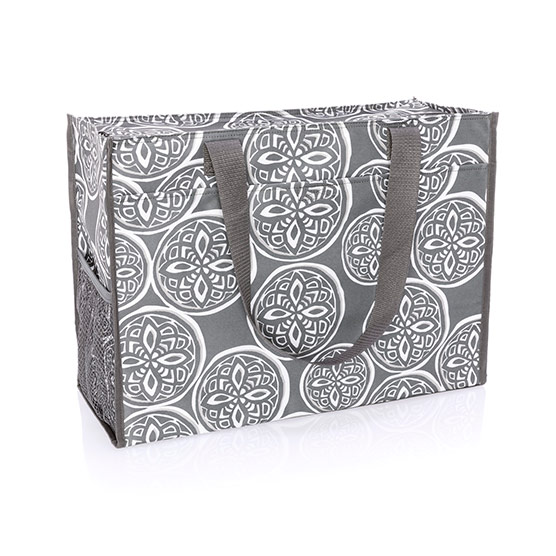Deluxe Organizing Utility Tote - Woodblock Whimsy