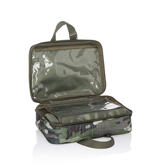 Fold-Up Travel Bag - Camo Crosshatch