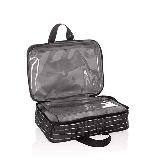 Fold-Up Travel Bag - Starlit Stripe