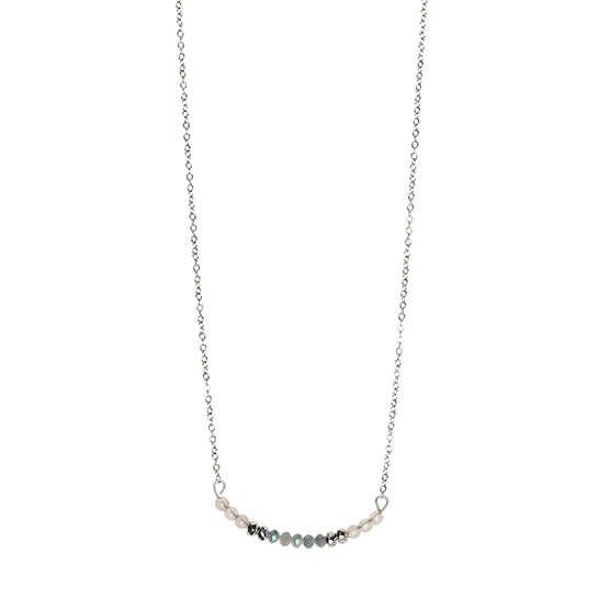 Delicate Dream Necklace - Polished Silver Tone
