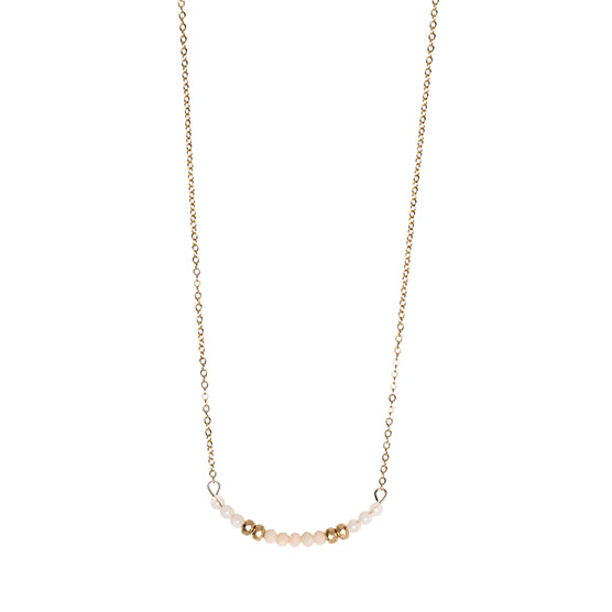 Delicate Dream Necklace - Polished Gold Tone