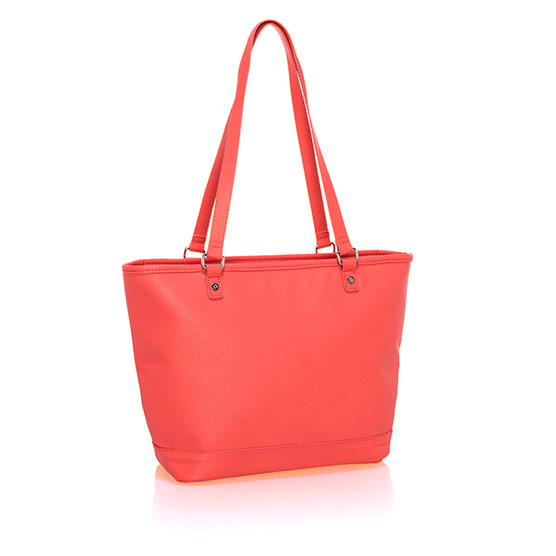 City Chic Bag - Calypso Coral Pebble