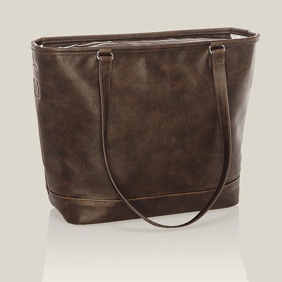 City Chic Bag - Chestnut Distressed Pebble