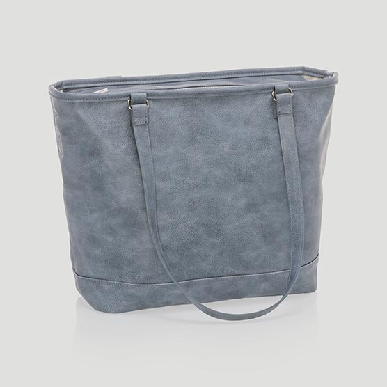 City Chic Bag - Denim Distressed Pebble