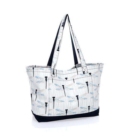 Beach-Ready Tote - Dragonfly Daze