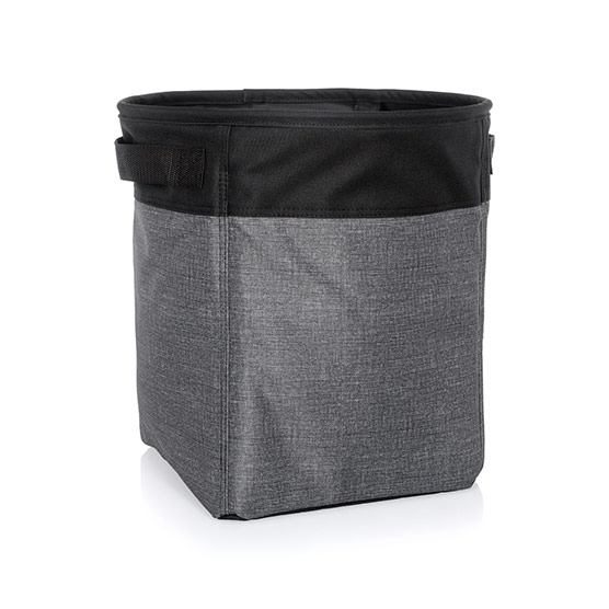 Medium Stand Tall Bin - Charcoal Crosshatch