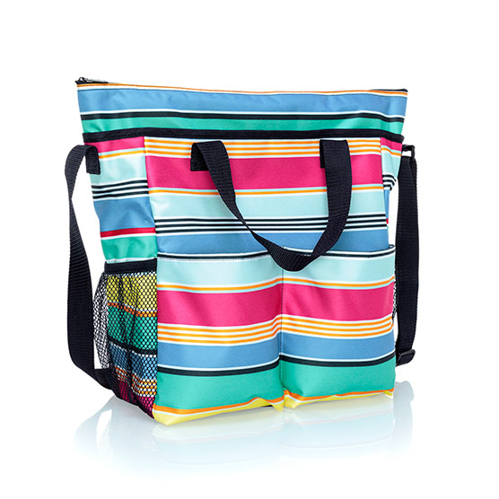 Crossbody Organizing Tote - Patio Pop