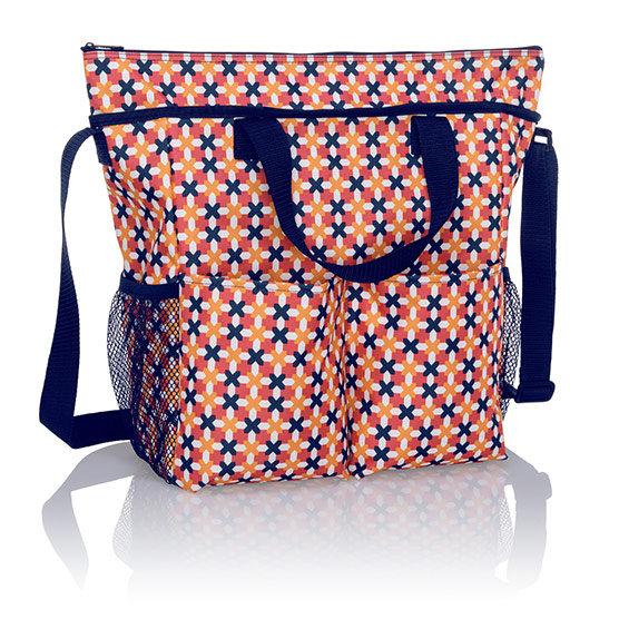 Crossbody Organizing Tote - Tropical Twist