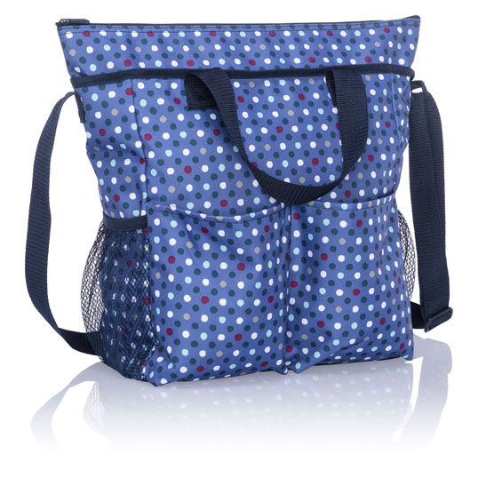Crossbody Organizing Tote - Playful Pop