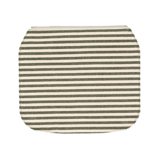 Studio Thirty-One Flap - Olive Twill Stripe