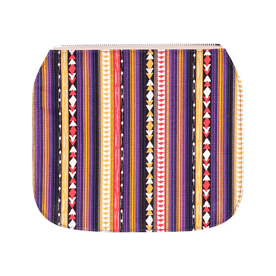 Studio Thirty-One Flap - Purple Southwest Stripe