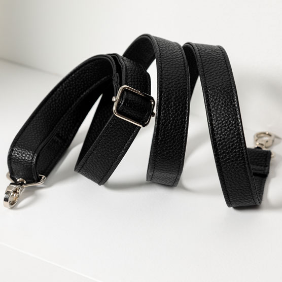 Crossbody Strap - Black Beauty Pebble