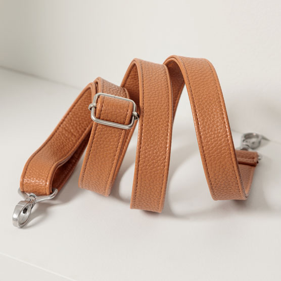 Crossbody Strap - Caramel Charm Pebble