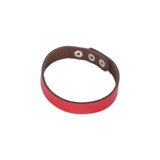 Just Write Snap Bracelet - Very Cherry