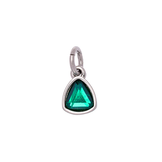 Celebration Birthstone Charm - May Emerald