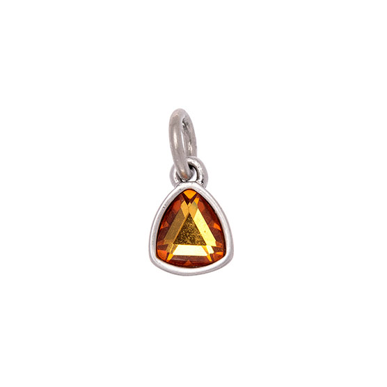 Celebration Birthstone Charm - November Topaz