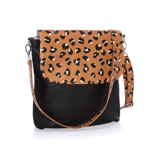 Studio Thirty-One Modern - Black Beauty Pebble w/ Lovely Leopard Pebble