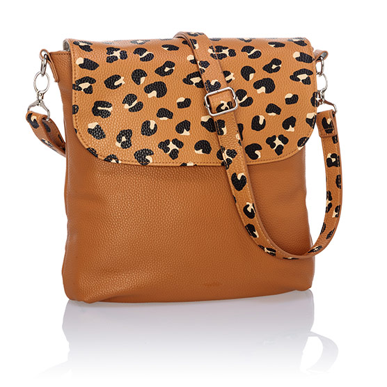 Studio Thirty-One Modern - Caramel Charm Pebble w/ Lovely Leopard Pebble