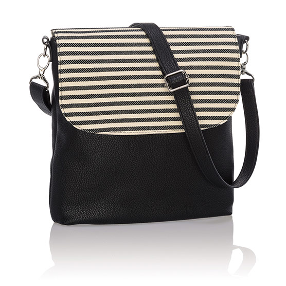 Studio Thirty-One Modern - Black Beauty Pebble w/ Twill Stripe