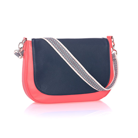 Studio Thirty-One Classic - Calypso Coral Pebble w/ Midnight Navy Pebble
