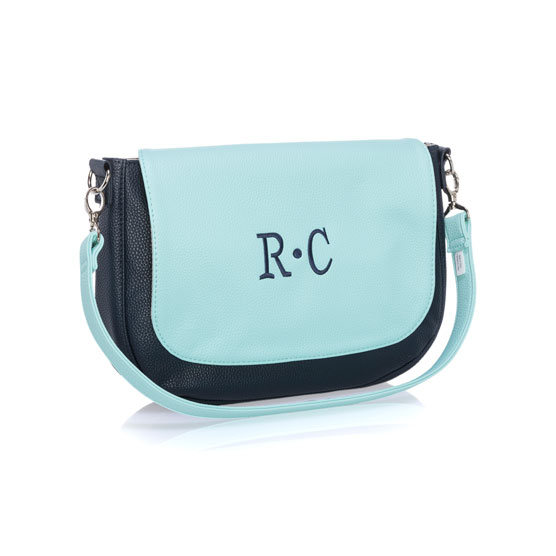 Studio Thirty-One Classic - Midnight Navy Pebble w/ Skies for You Pebble