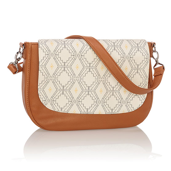 Studio Thirty-One Classic - Caramel Charm Pebble w/ Dotted Geo Pebble