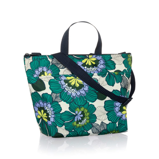 Crossbody Thermal Tote - Garden Party