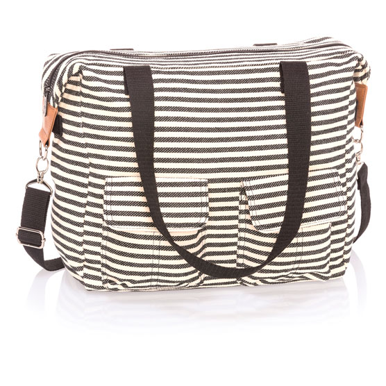 Casual Cargo Bag - Twill Stripe