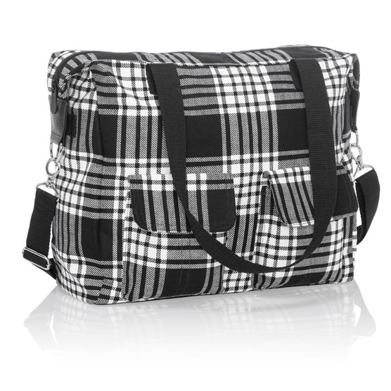 Casual Cargo Bag - Perfectly Plaid