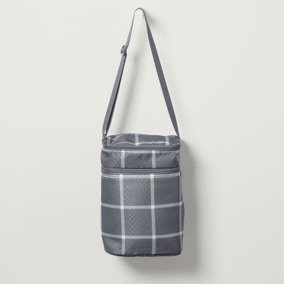 Multi Bottle Thermal - Windowpane Plaid