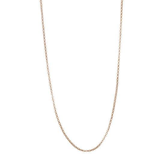 "Dainty Rolo Chain - 18"" - Gold Tone"