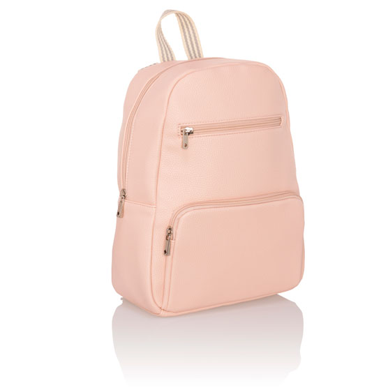 Boutique Backpack - Rose Blush Pebble