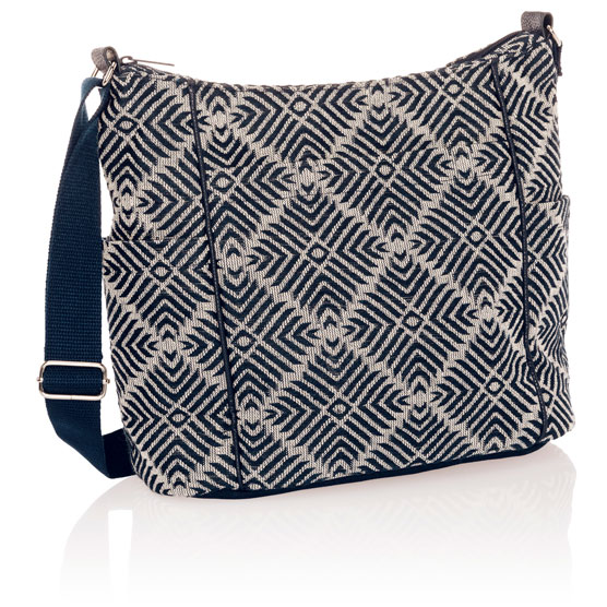 Casual Carry-All - Diamond Weave