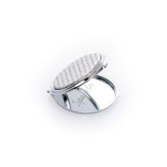 Small Mirror Compact - Hello Happy Sparkle