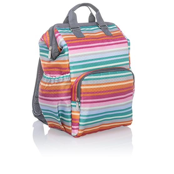 Adventures Backpack - Lollipop Stripe