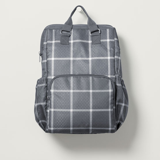 Adventures Backpack - Windowpane Plaid